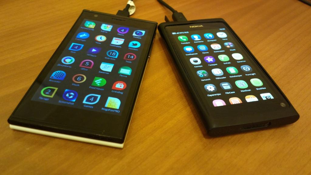 Nokia N9 и Jolla